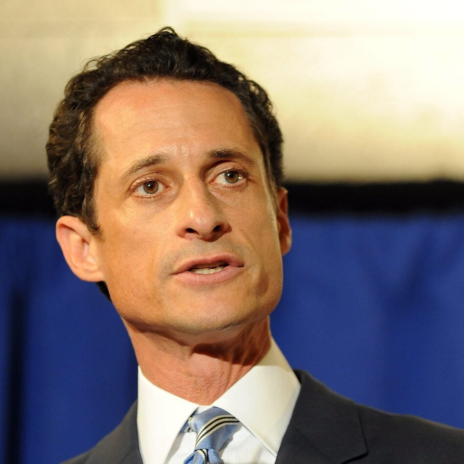 Former Rep. Anthony Weiner, D-N.Y., in June 2011 — at the height of the sexting scandal that led to his resignation from Congress.