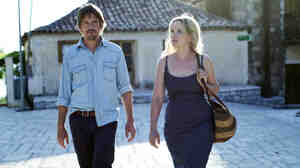 Still Talking: After 18 years, Jesse (Ethan Hawke) and Celine (Julie Delpy) apparently have plenty left to hash out.