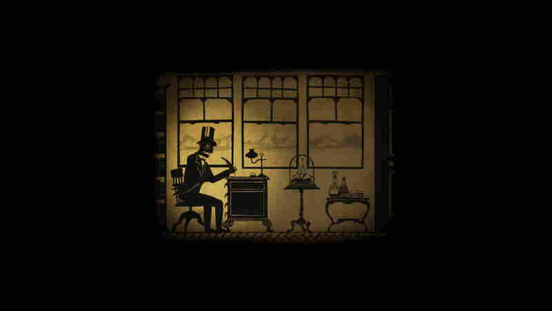 Stories-within-the-story appear as retro animations, a clever recurring touch.