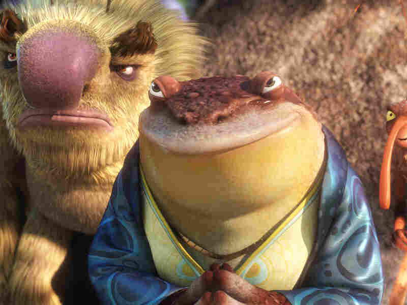 Pitbull voices Bufo the toad in the new film Epic.