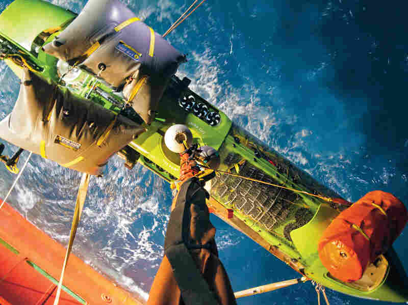 James Cameron traveled to the bottom of the Mariana Trench last year — a depth of nearly seven miles.