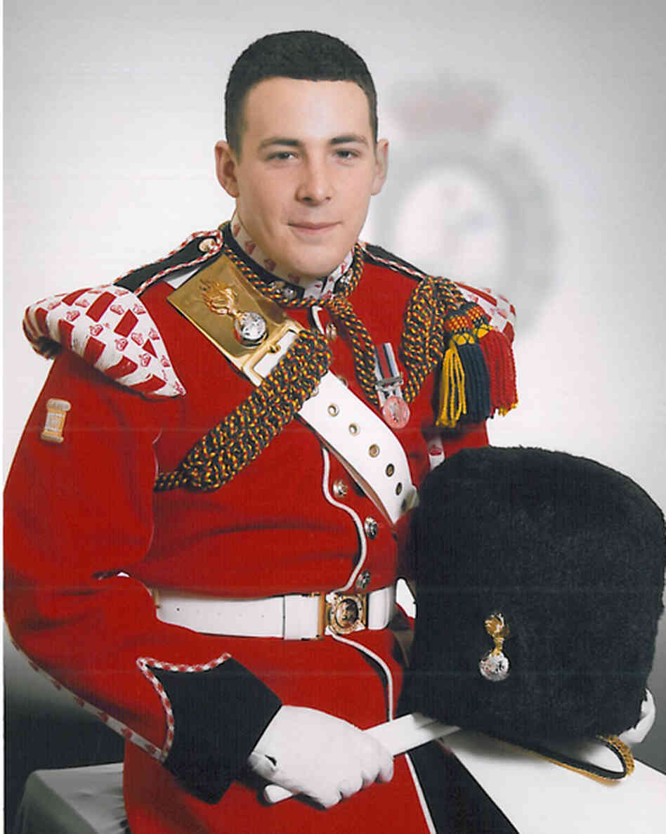 The victim: Drummer Lee Rigby.