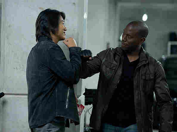 Fast & Furious 6 -- starring Sung Kang (left) as Han and Tyrese Gibson as Roman — is director Justin Lin's fourth movie in the franchise.