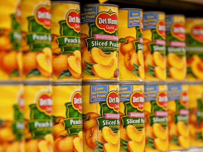 Canned Peaches Are As Nutritious As Fresh Really The Salt Npr