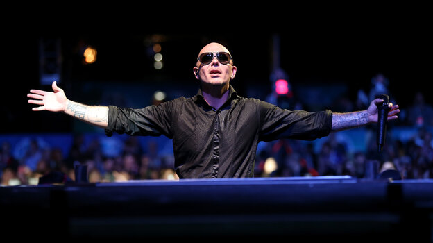 Pitbull's latest album is titled Global Warming, and he voices the character Bufo in the new movie Epic.