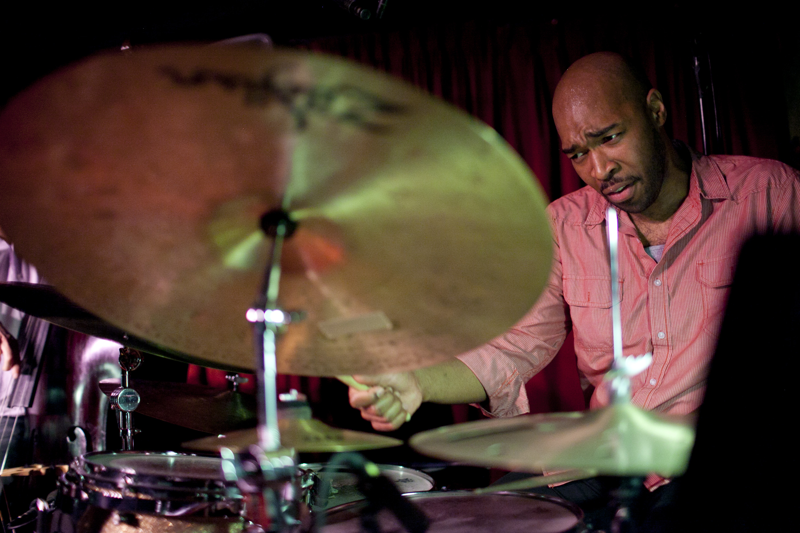 "Eric Harland summons ""The Sirens."""