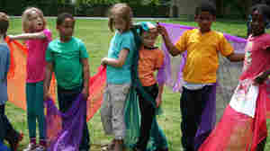 Elementary school students in Maplewood, N.J. prepare to enact their own Rite.