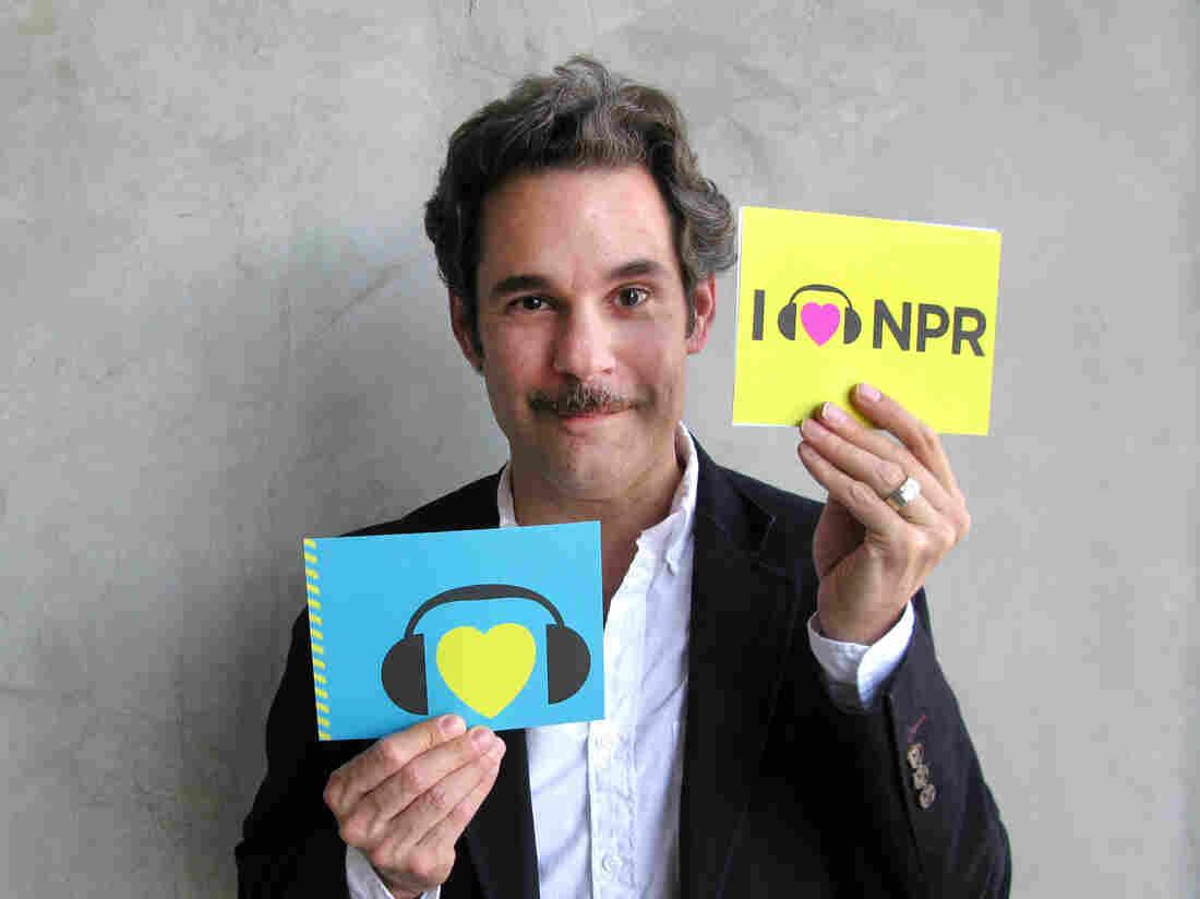 Paul F. Tompkins at NPR West.