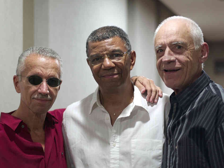 Keith Jarrett, Jack DeJohnette and Gary Peacock's new album of standards is titled Somewhere.