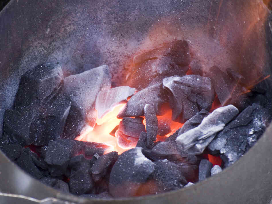 Lump charcoal can burn hotter and can be made with specific woods that impart desirable flavors on food.