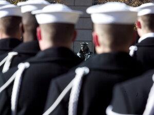 U.S. Navy sai