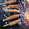 Bon Appetit editor Adam Rapoport compiled recipes from all over the world for The Grilling Book. Pictured here are Chicken Yakitori.