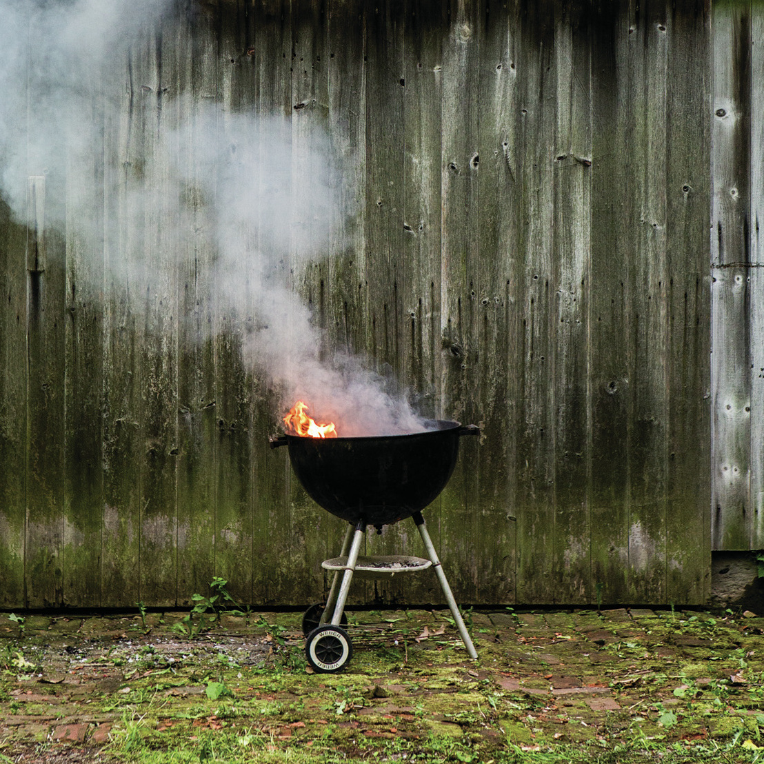 Bon Appetit editor Adam Rapoport prefers to grill with hardwood lump charcoal, instead of briquettes.