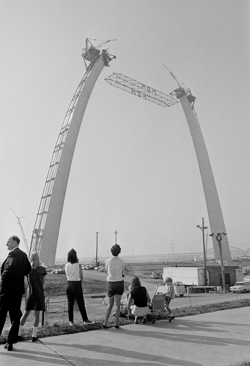 Gateway Arch 'Biography' Reveals Complex History Of An American Icon : NPR