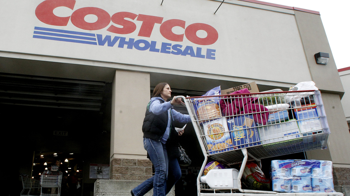 how a trip to costco can work as an investment strategy npr