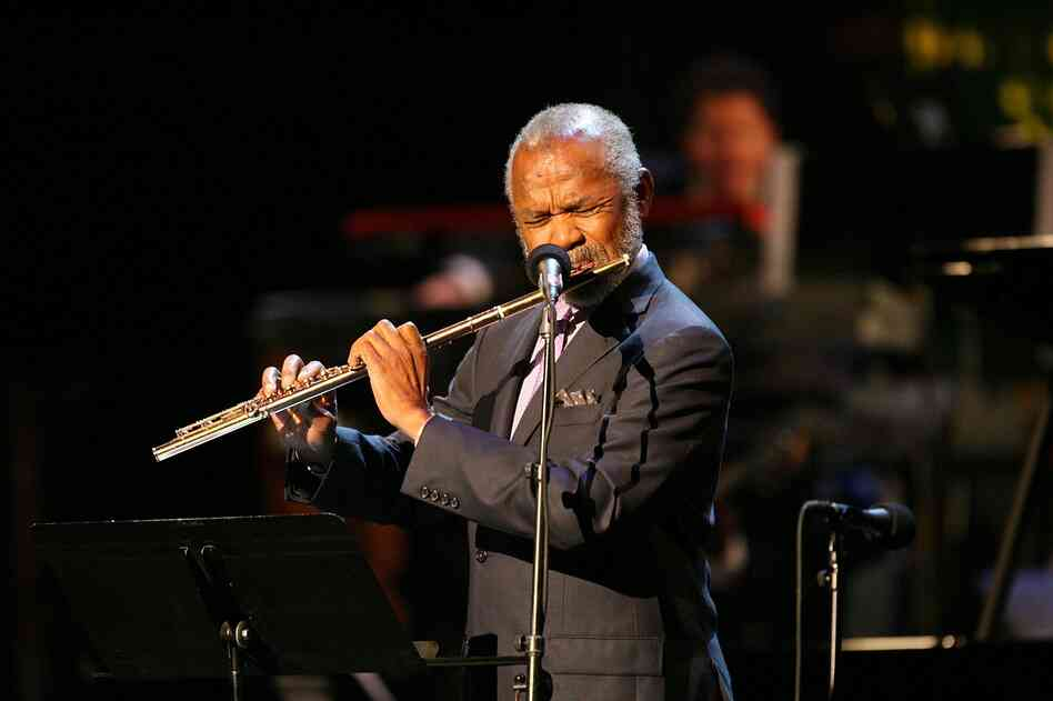 Flutist Hubert Laws is one of many jazz artists to have recorded an adaptation of themes from The Rite of Spring.