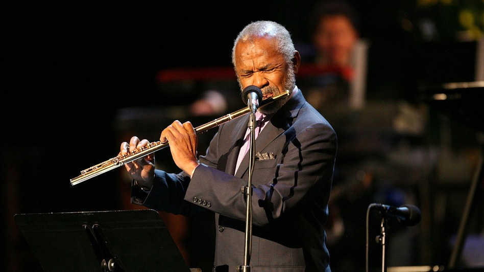 Flutist Hubert Laws is one of many jazz artists to have recorded an adaptation of themes from The Rite of Spring. (Getty Images)