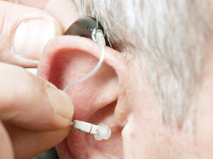 Basic hearing aids cost an average of $1,500 per ear.