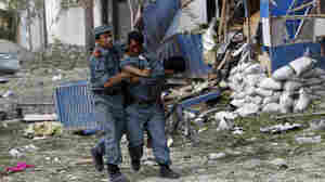 Explosion, Gunfire Reverberate In Kabul