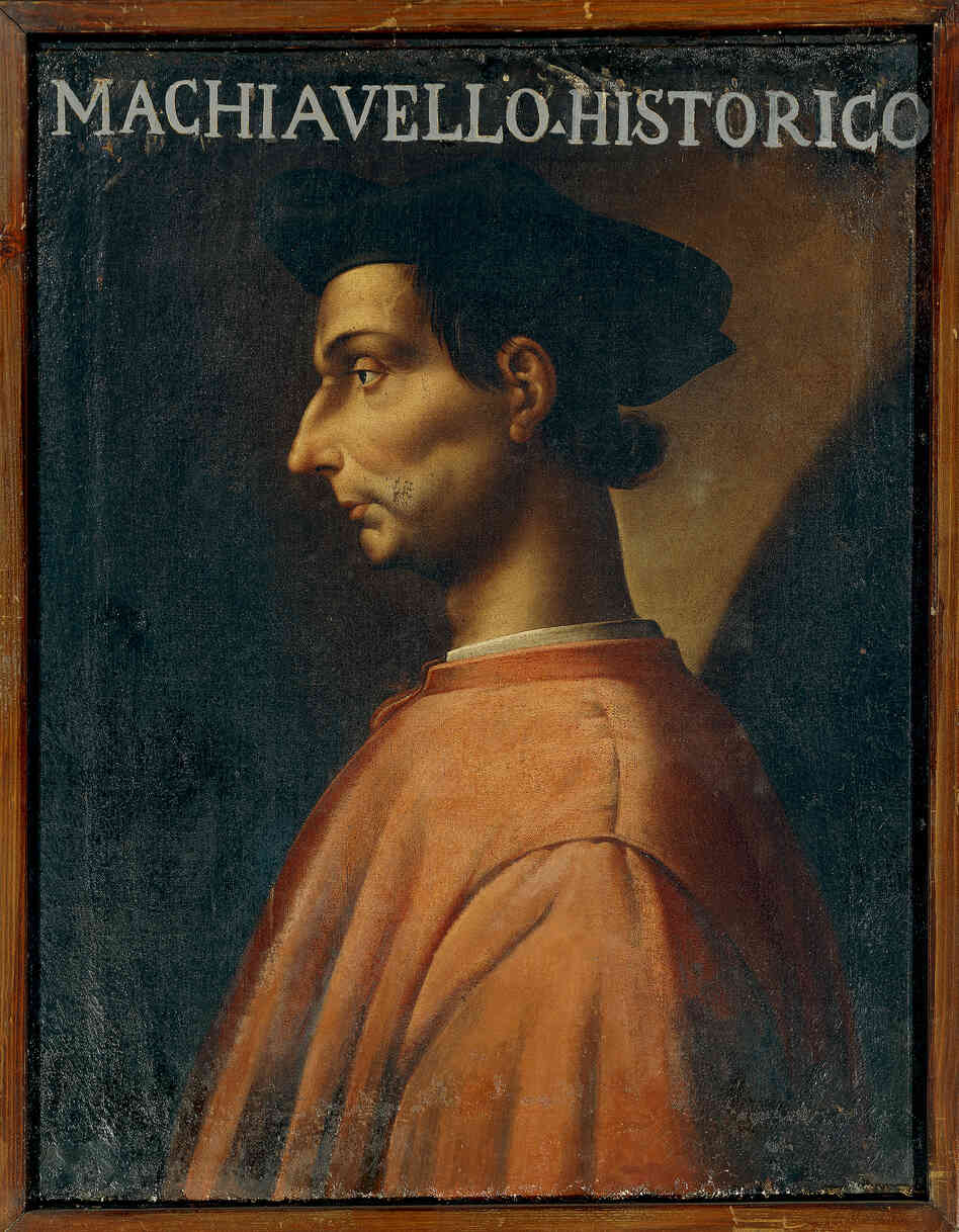 A portrait of Italian philosopher, writer and politician Niccolo Machiavelli (Florence, 1469-1527) by Antonio Maria Crespi. Half a millennium after he wrote The Prince, the slim volume continues to play an important role in political thought and evoke strong response.
