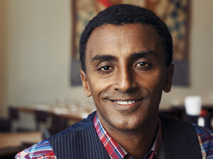 James Beard award-winning chef Marcus Samuelsson has been a judge on Top Chef, Iron Chef America and Chopped.