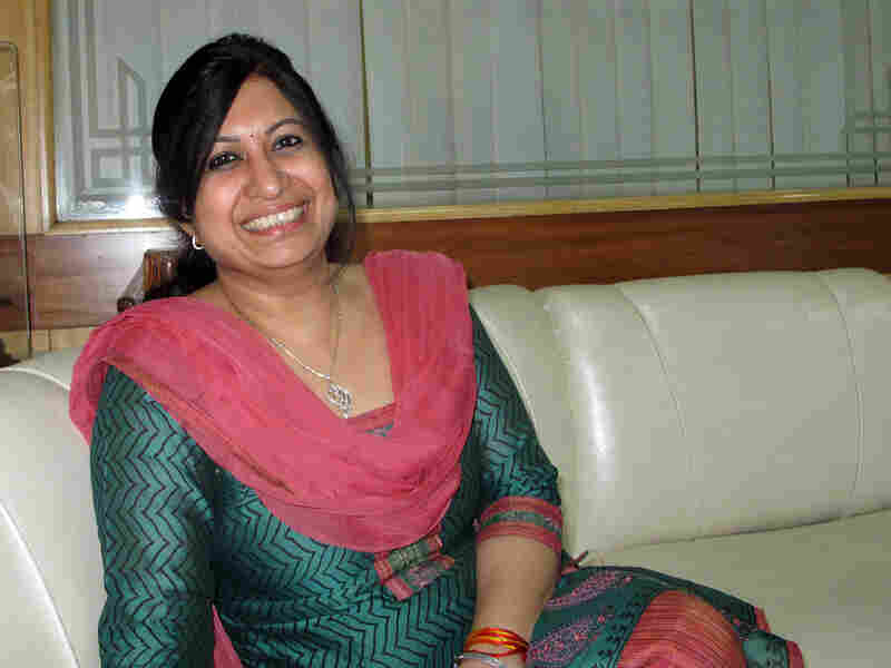 """Nita Jha, a matchmaker at the high-end matrimonial firm Sycorian, says """"it's high time"""" Indian women had options."""