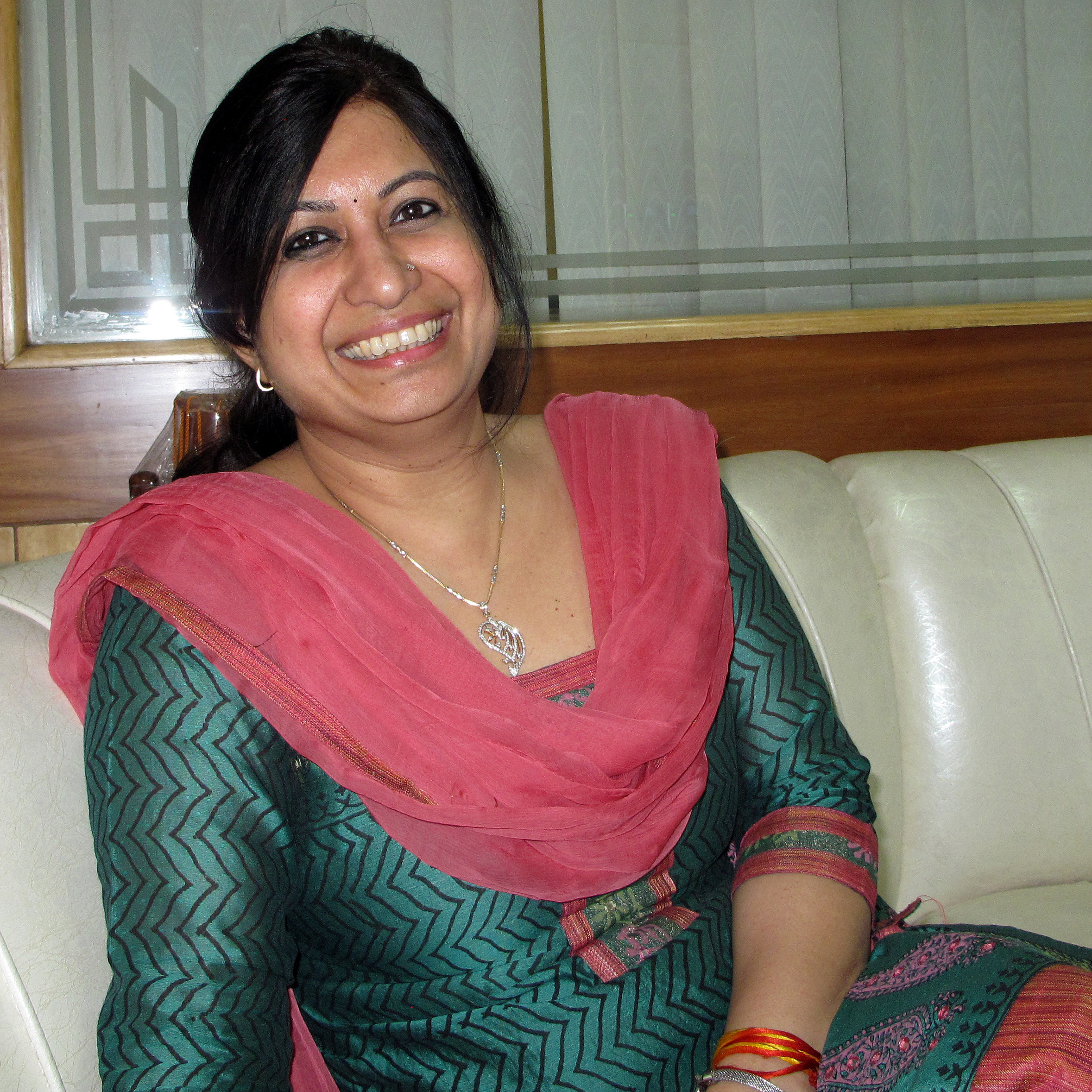 "Nita Jha, a matchmaker at the high-end matrimonial firm Sycorian, says ""it's high time"" Indian women had options."