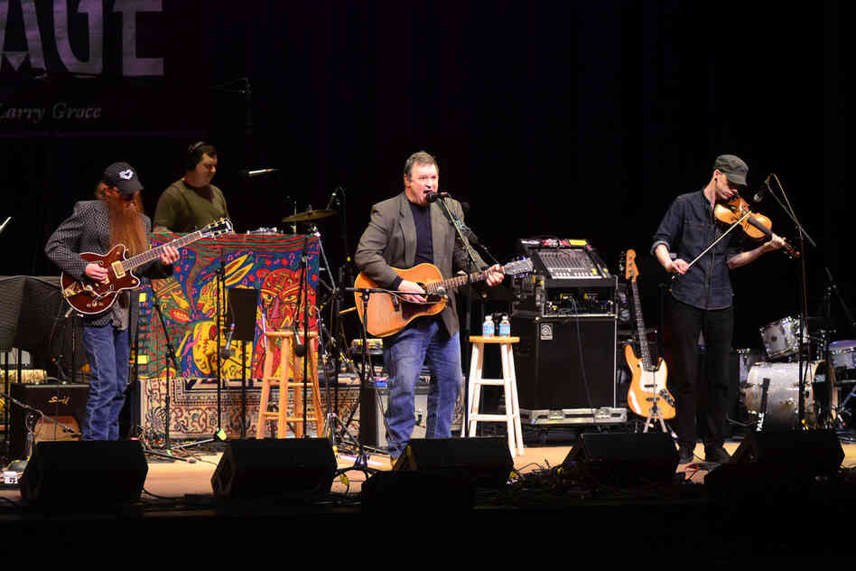 Overmountain Men makes its first appearance on Mountain Stage, recorded live at the Culture Center Theater