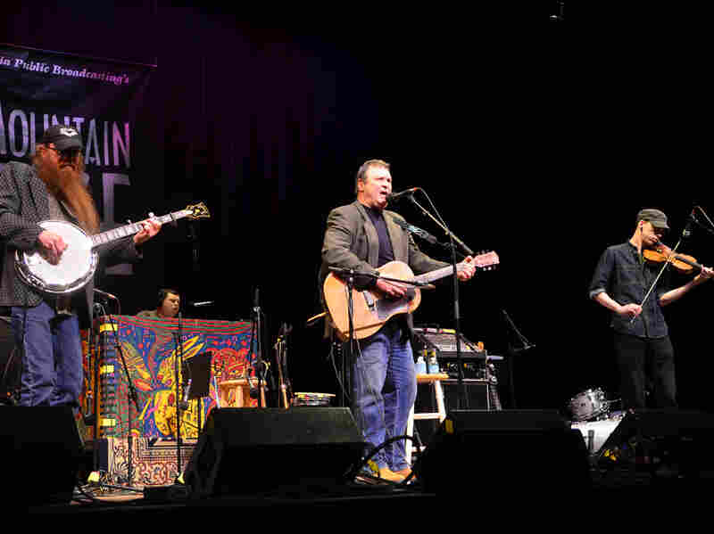 Overmountain Men makes its first appearance on Mountain Stage, recorded live at the Culture Center Theater in Charleston, W.Va.