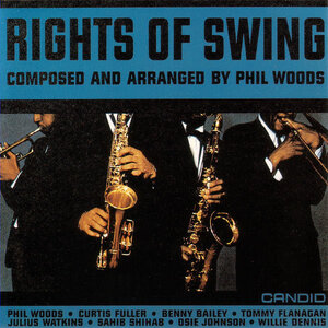 Cover art to Phil Woods' Rights Of Swing, 1961.