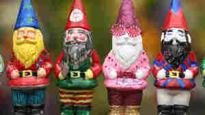 Gnomes Crash Distinguished Garden Show In England