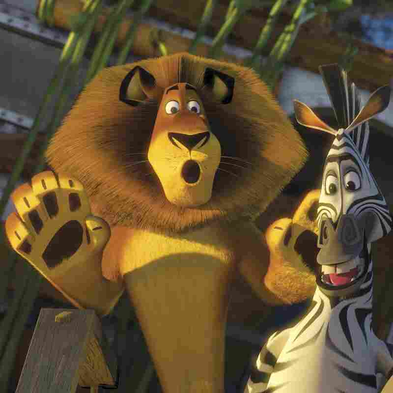 A scene from the animated film Madagascar: Escape 2 Africa.