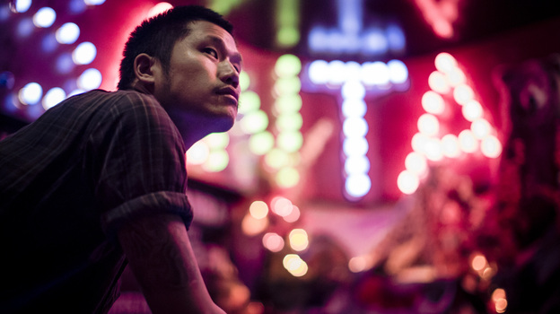 Dirty Beaches is the performing title of the Taiwanese-Canadian musician Alex Zhang Hungtai. His new double album is called Drifters / Love Is the Devil (Courtesy of the artist)