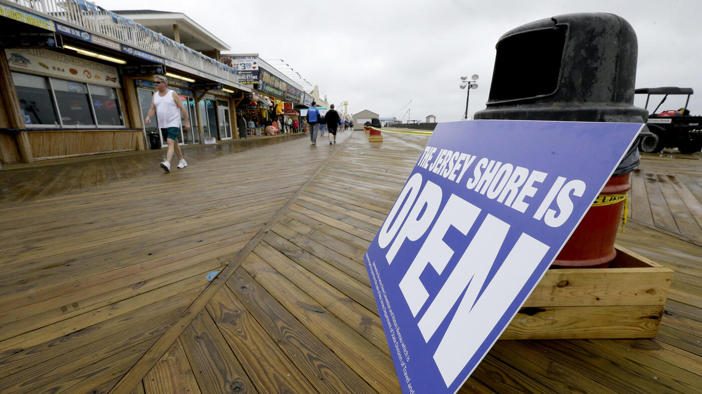 rebuilding new jersey shore one boardwalk at a time npr