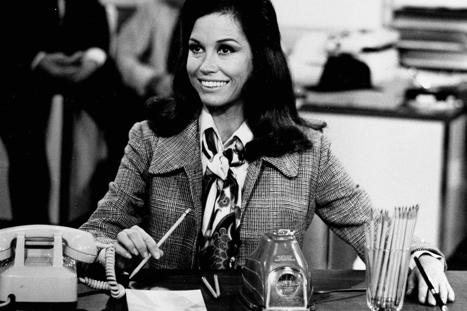 <em>The Mary Tyler Moore Show</em> first aired in 1970. (AP)