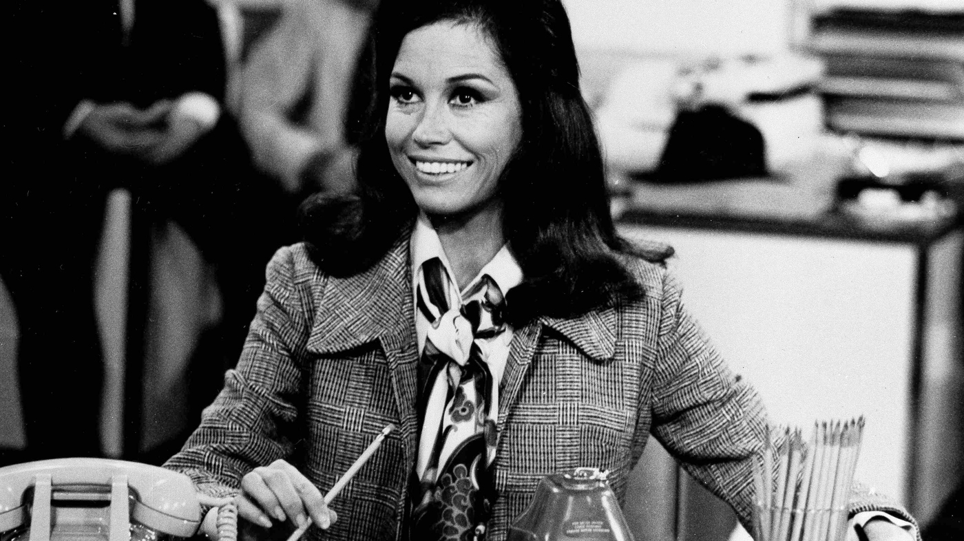 Mary Tyler Moore changed the face of television