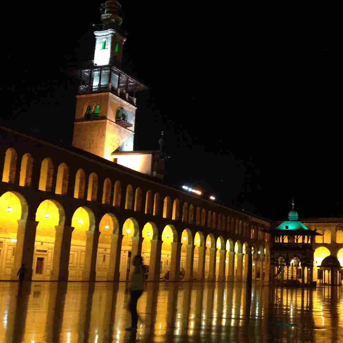 The Ummayyid Mosque in Damascus has been a mosque for around 1,400 years. It sits in the center of a city where many people are struggling to live normal lives amid war.