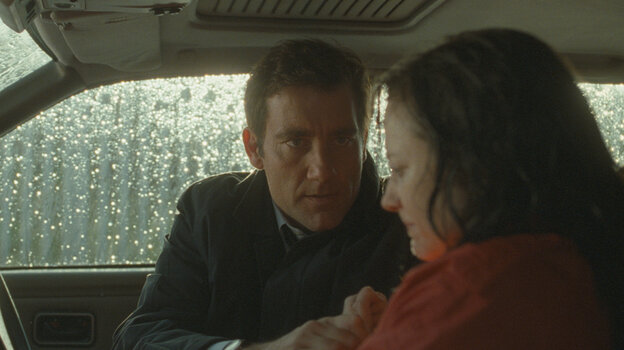 Clive Owen and Andrea Riseborough star in Shadow Dancer, a thriller set in Belfast.
