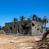 A destroyed home in Tawargha, south of Misrata, on June 5, 2012. Residents have not returned home for fear of death.