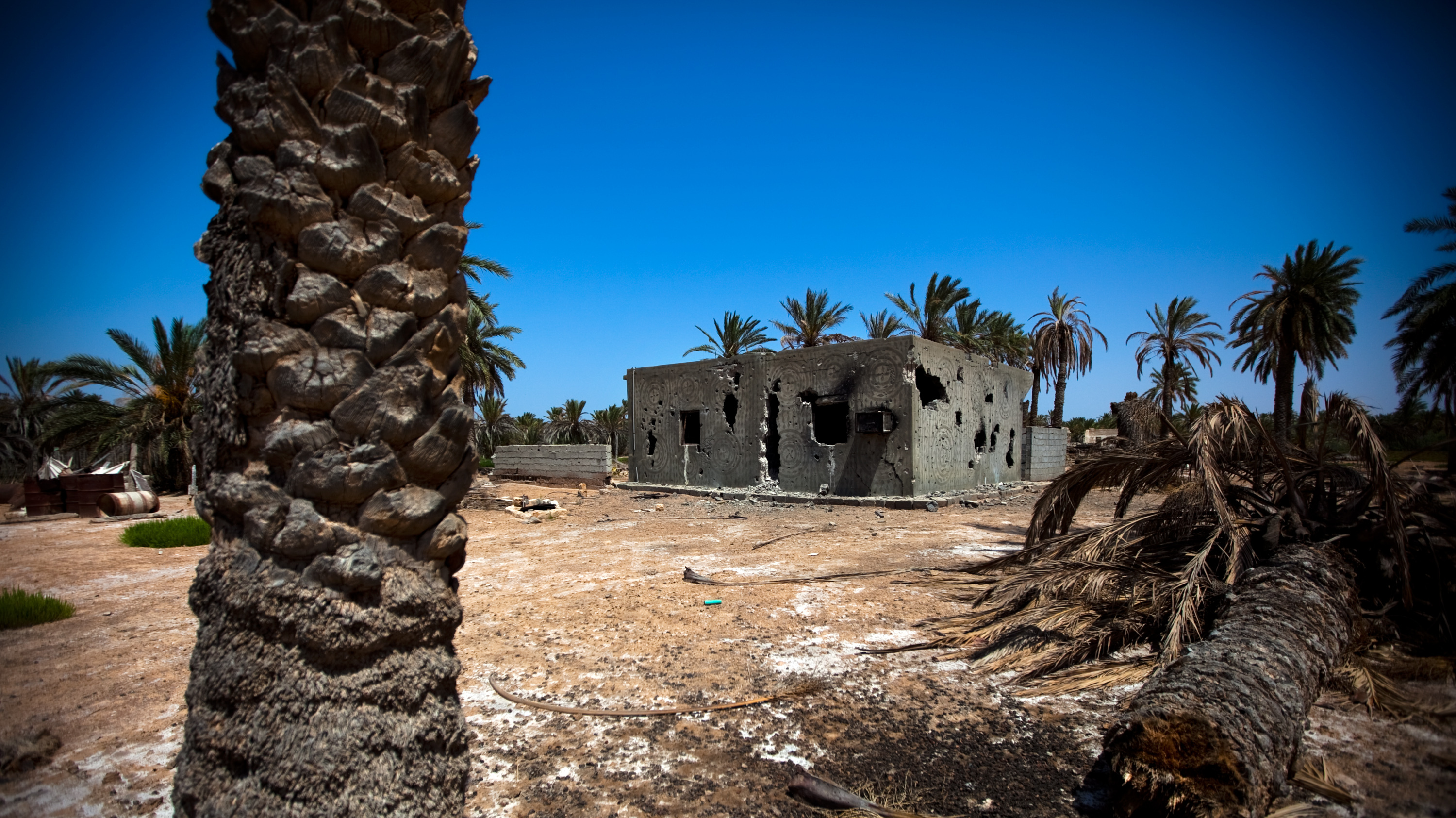 After The War, A Bitter Feud Remains In Two Libyan Towns