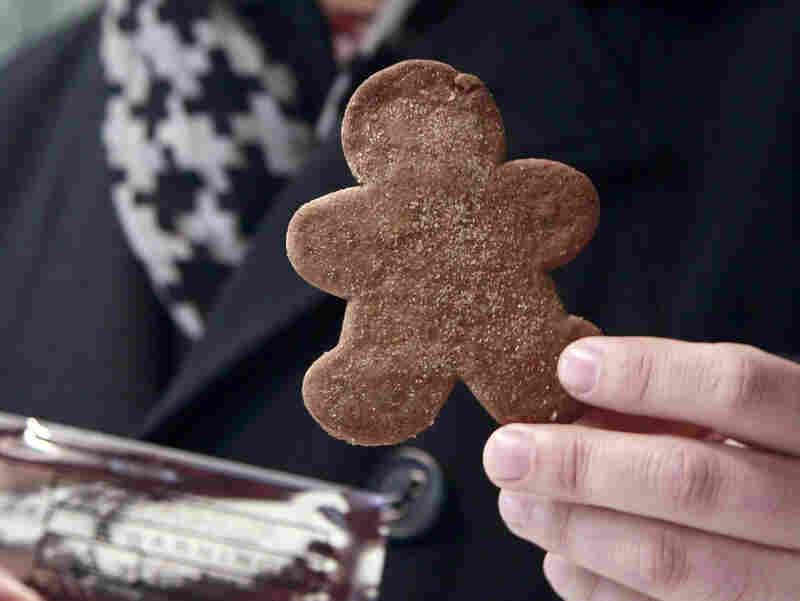 Marijuana gingerbread cookies, like this one sold at The Apothecarium in San Francisco, could easily appeal to kids.