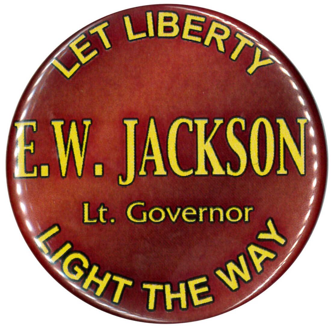 EW Jackson button