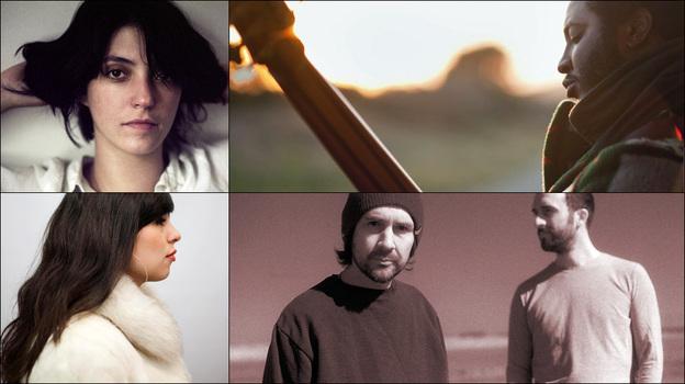 Clockwise from upper left: Sharon Van Etten, Boards Of Canada, Thundercat, Natasha Kmeto (Courtesy of the artists)