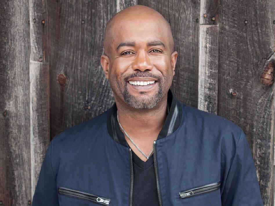 Darius Rucker's new album is titled True Believers.