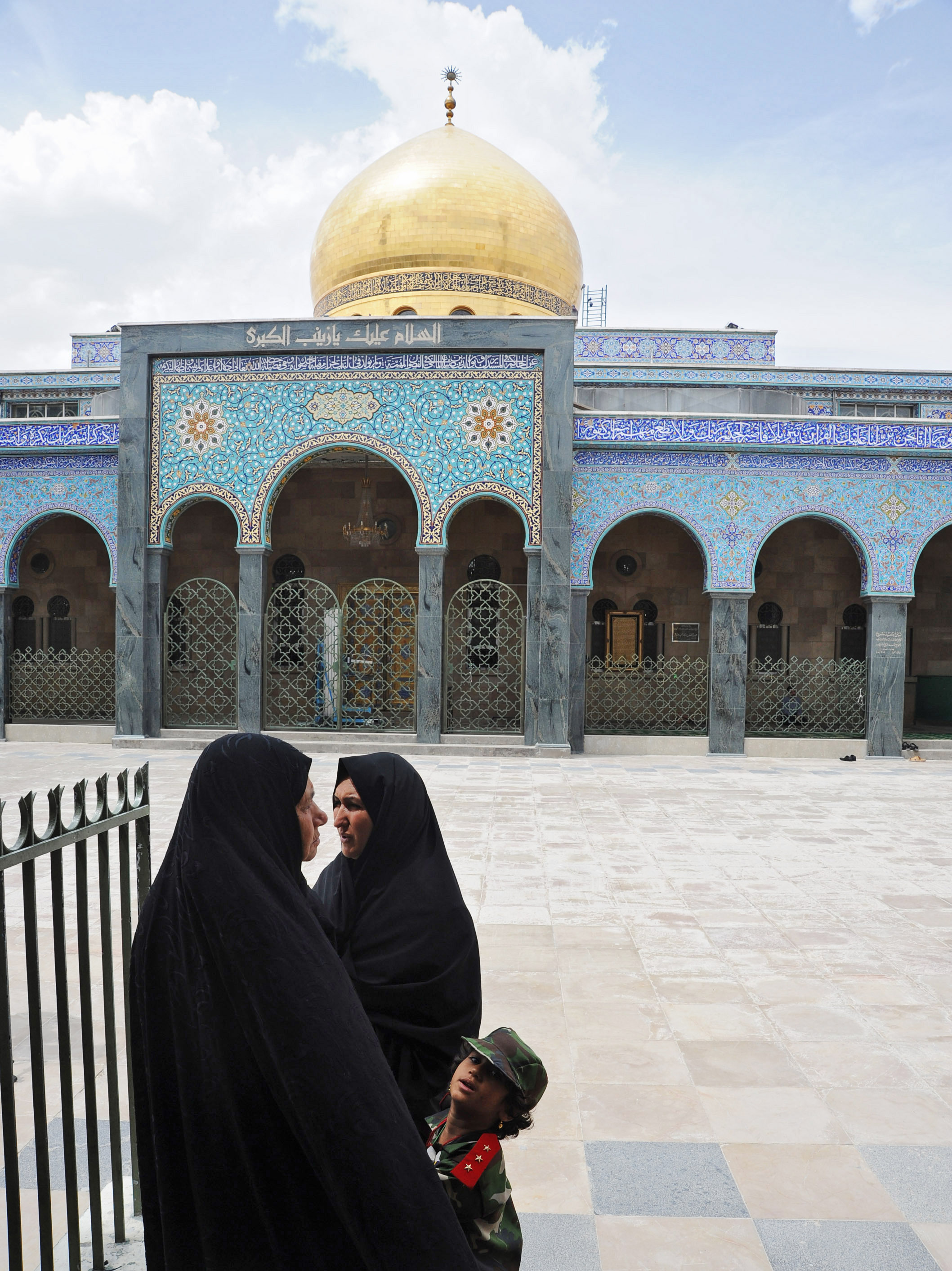 Syria's Civil War: The View From A Damascus Shrine