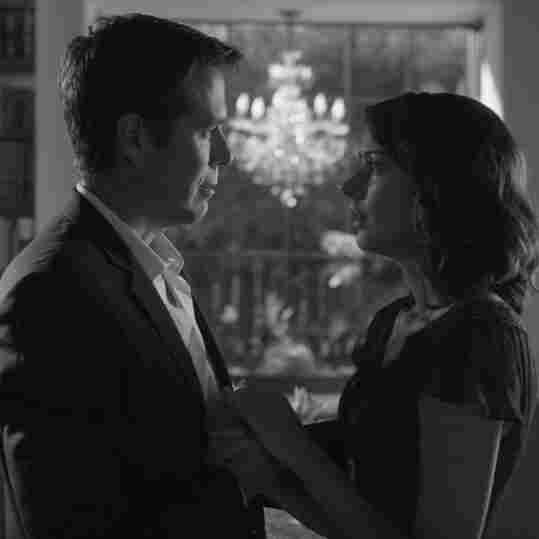Alexis Denisof and Amy Acker in Joss Whedon's Much Ado About Nothing.