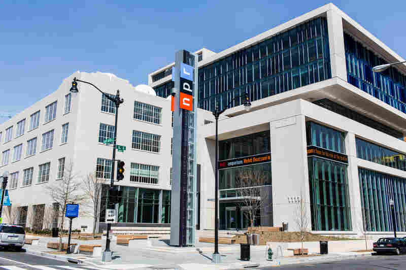 NPR Headquarters in Washington, DC.