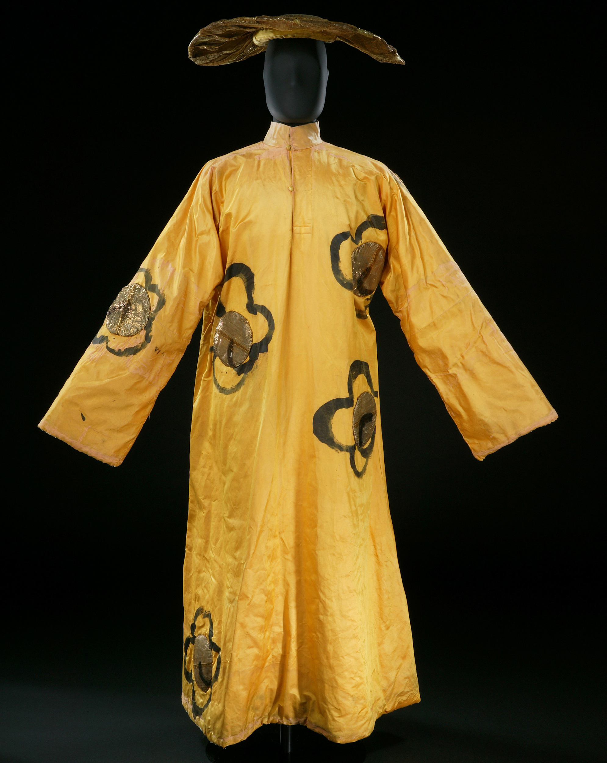 Henri Matisse's satin costume for a dancer in The Song of the Nightingale (1920).