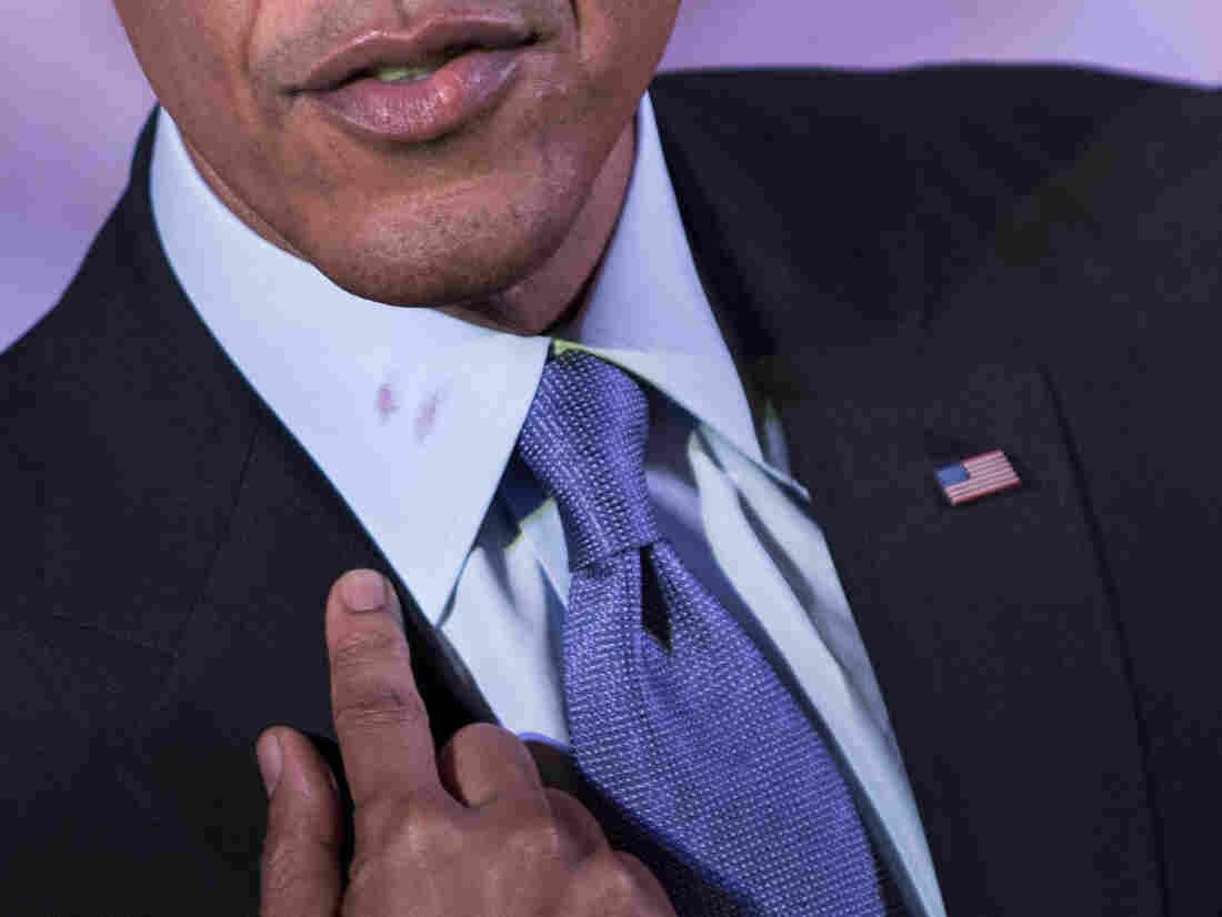 I can explain, the president said Tuesday.