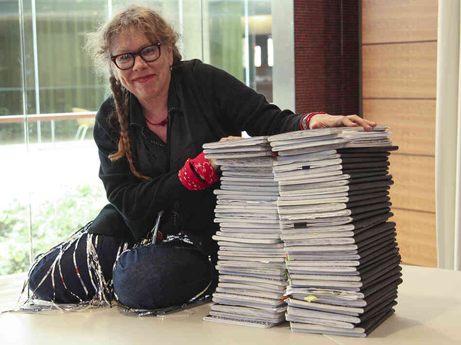 Lynda Barry is an assistant professor of Interdisciplinary Creat